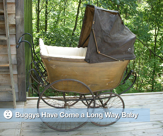 Stroller Flashback: Buggys Have Come a Long Way, Baby
