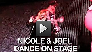 Video of Nicole Richie and Joel Madden on Stage at the Yo Gabba Gabba Show in LA