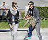Slide Picture of Jessica Alba and Cash Warren With Honor