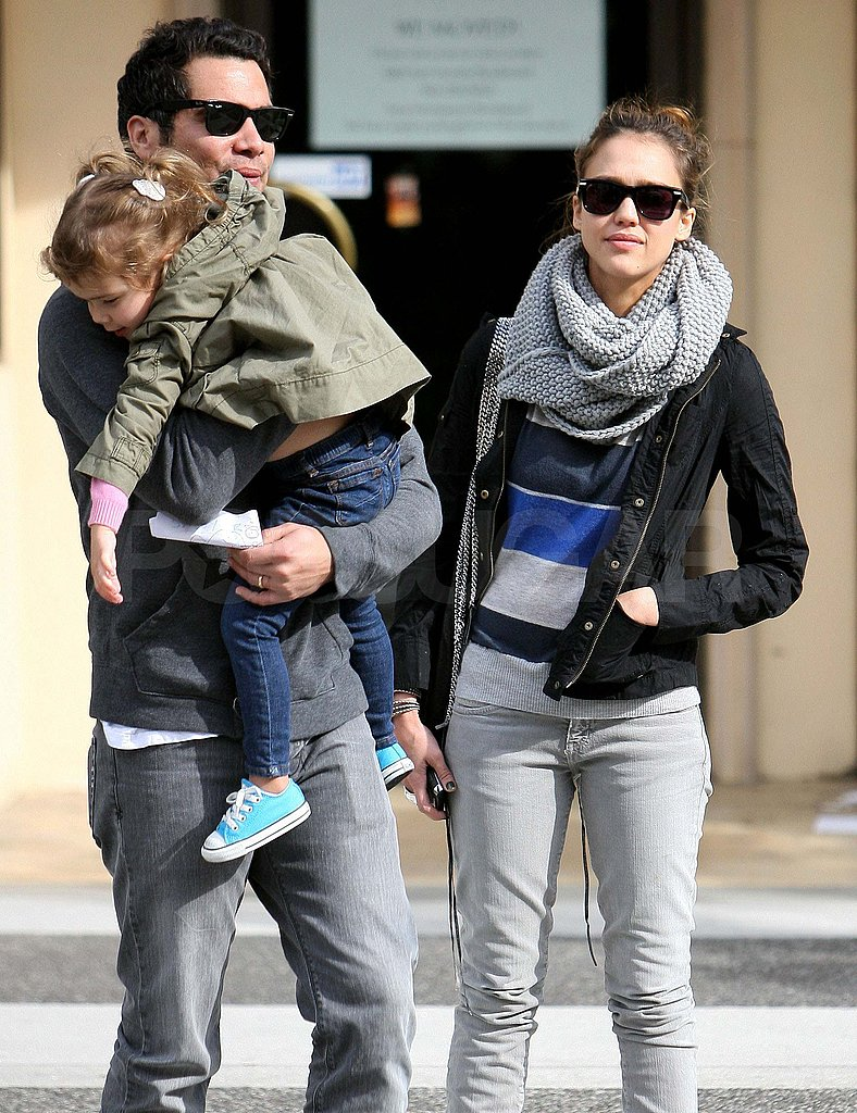 Pictures of Jessica Alba, Cash Warren, and Honor