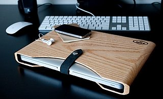 Wooden MacBook Pro Laptop Case
