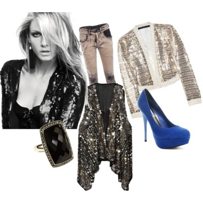 Add Some Sparkle With a Sequin Jacket
