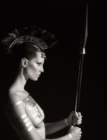 Iris Strubegger as Athena