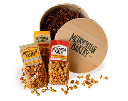 Metropolitan Bakery&#039;s Signature Popcorn Sampler