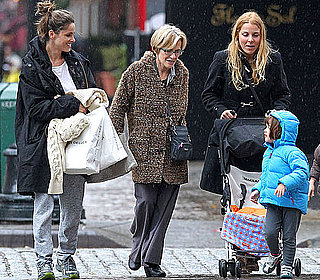 Pictures of Amanda Peet With Daughter Frances in NYC