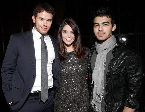 Pictures of Kellan Lutz at the Meskada Premiere With Ashley Greene and Joe Jonas in LA