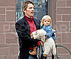 Slide Picture of Ethan Hawke With Clementine in NYC