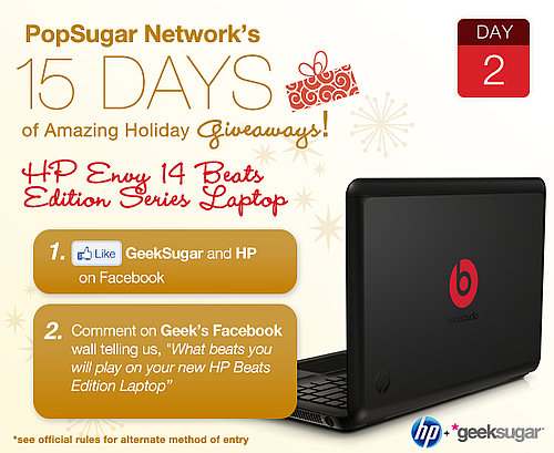 Holiday Shopping Laptop Giveaway