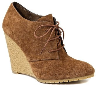 When I'm feeling less ladylike, more rugged, these Sam Edelman Lace-Up Wedges ($130) will come in handy.