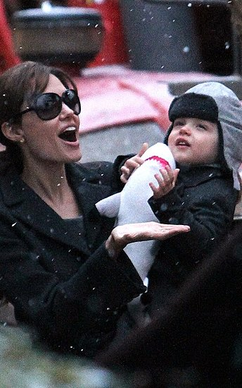 Angelina Jolie was spotted out with Knox in Paris, France on Wednesday (December 1).
