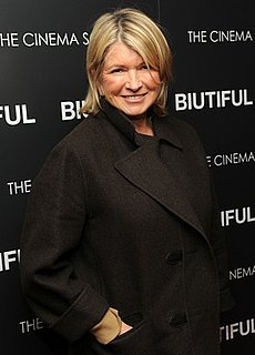 Martha Stewart's iPad and Samsung Galaxy Tab