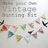 Make Your Own Vintage Bunting Kit