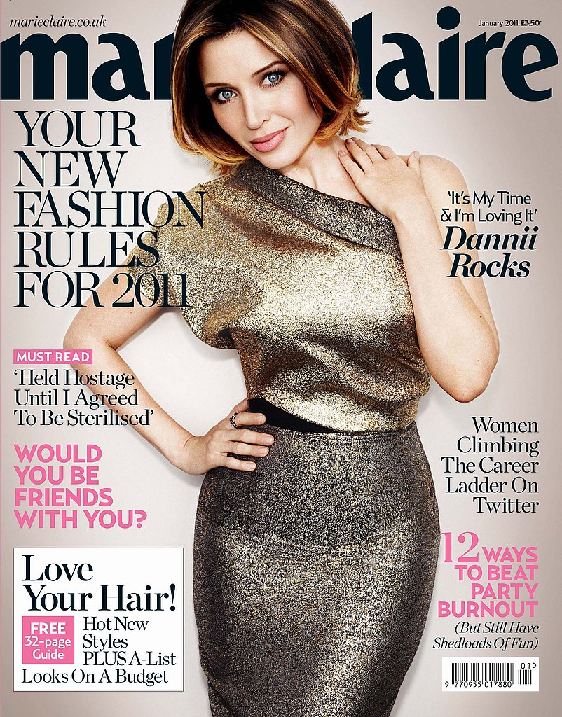 Pictures of Dannii Minogue in Marie Claire