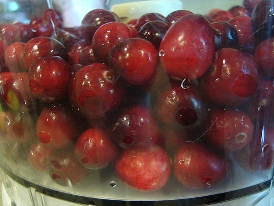Cranberry-apple fluff