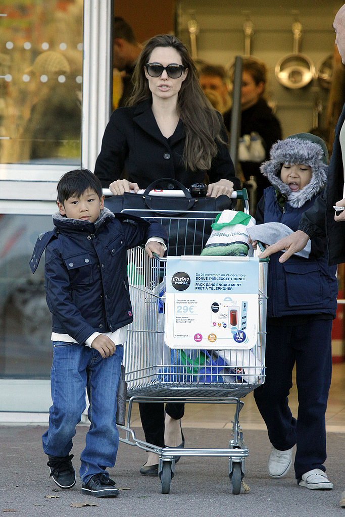 Pictures of Angelina Jolie and the Boys