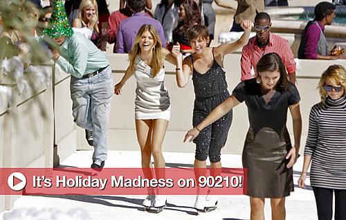 90210 Holiday Episode Photos