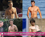 Pictures of Shirtless Robert Pattinson, Zac Efron, Tom Cruise, Jude Law and More!