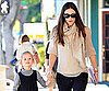 Slide Picture of Jennifer Garner and Violet Affleck