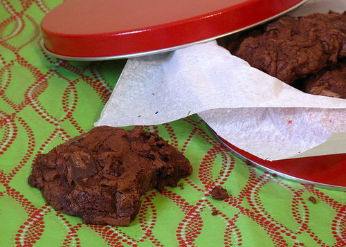 Double-Chocolate Cranberry Cookies Recipe