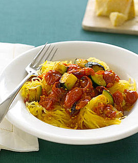 Fast & Easy Recipe For Spaghetti Squash With Roasted Vegetables