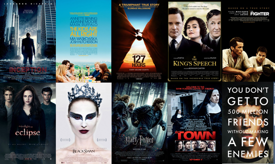 Best Dramatic Movies of 2010 List
