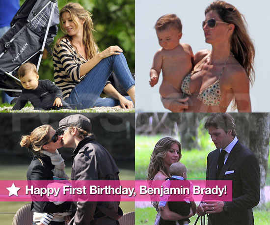 Happy First Birthday to Tom Brady and Gisele Bundchen's Baby Benjamin!