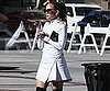 Slide Picture of Jennifer Lopez Wearing White in LA
