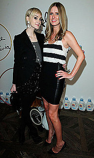 Pictures of Ashlee Simpson and Nicky Hilton at the Soho House For a Holiday Party