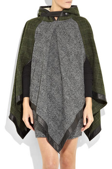 Rag & Bone Northfield Checked Tweed Poncho ($800)