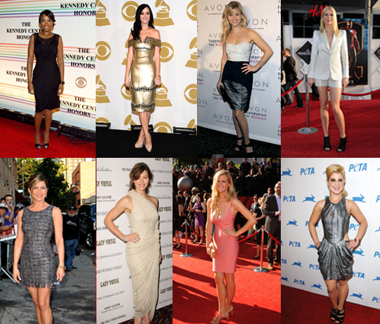 Who Is the Fittest Female Celebrity of 2010?