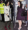 Pictures of Cheryl Cole and Rebecca Ferguson in Liverpool