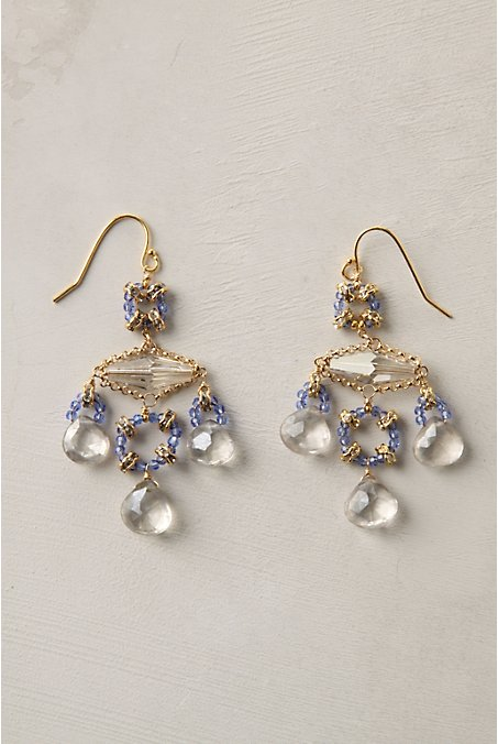 Anthropologie Scales of Justice Chandelier Earrings ($198)