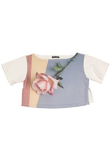 Rose, 1987 cropped t-shirt