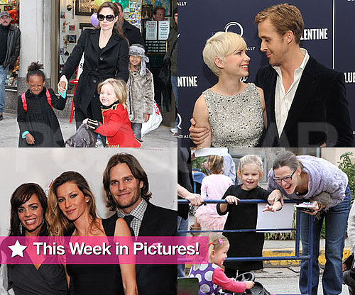 Pictures of Tom Brady, Gisele Bundchen, Jennifer Garner, Angelina Jolie, and More
