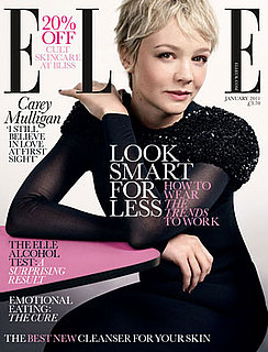 Carey Mulligan Talks About Shia LaBeouf in 2011 January Elle UK