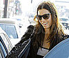 Slide Picture of Jessica Biel Leaving a Nail Appointment in LA
