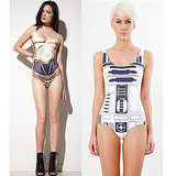 Black Milk Artoo and Threepio Bathing Suits ($85)
