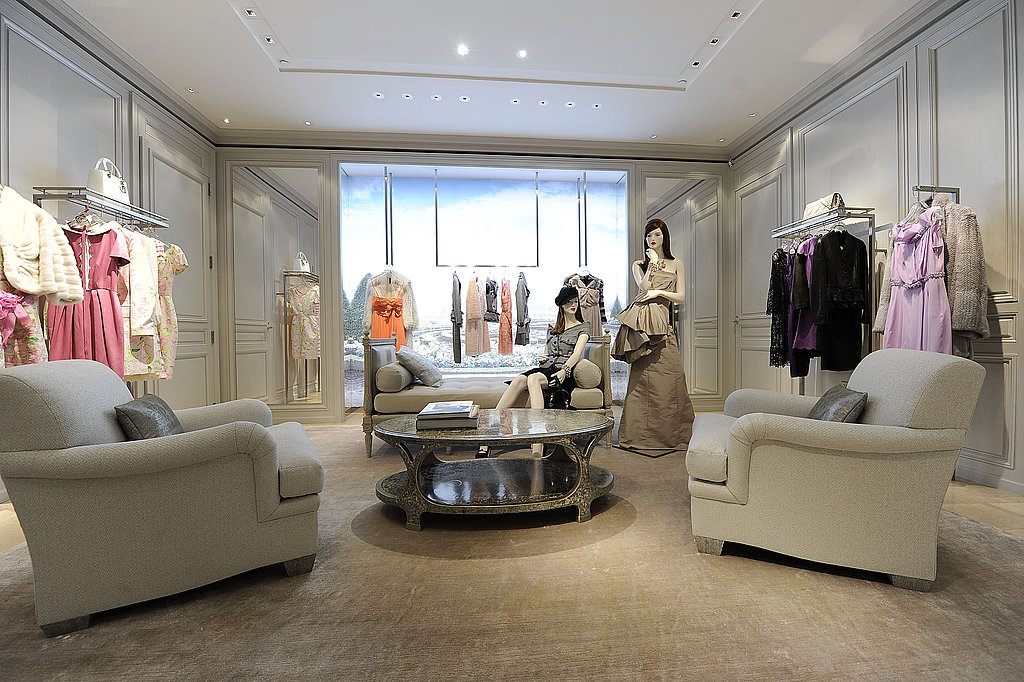 A view of the new boutique — just what shopping should be.