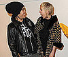 Slide Picture of Pete Wentz and Ashlee Simpson at Garfield Event in LA