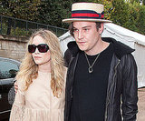 Mary-Kate Olsen and Nate Lowman