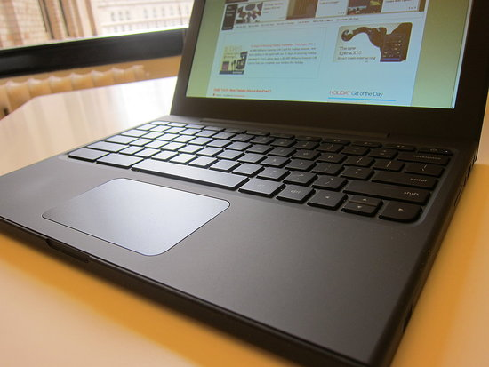 Photos of the Google Chrome Notebook CR-48
