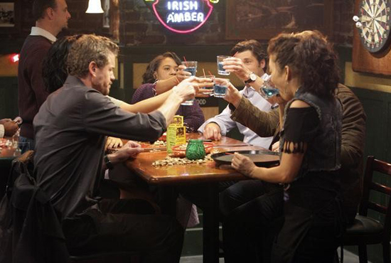 Emerald City Bar on Grey's Anatomy