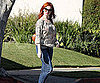 Slide Pictures of Christina Hendricks in LA