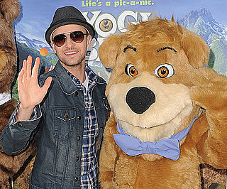 Slide Picture of Justin Timberlake at Yogi Bear Premiere in LA