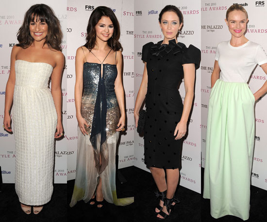 Pictures of Celebrities From the Hollywood Style Awards