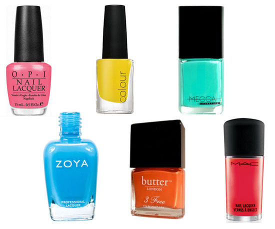 10 of The Best Nail Shades For Summer
