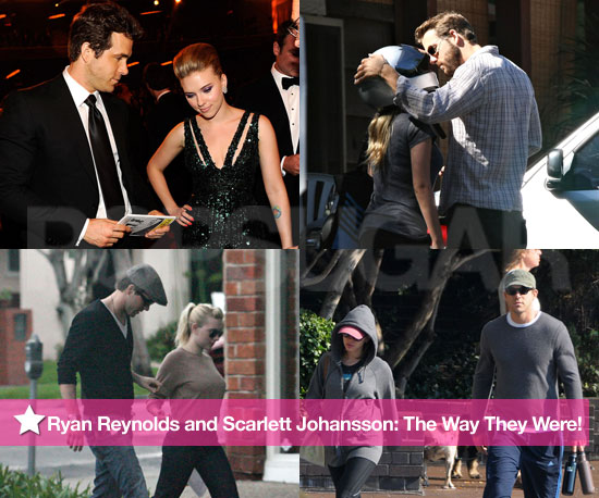 Ryan Reynolds and Scarlett Johansson: The Way They Were!