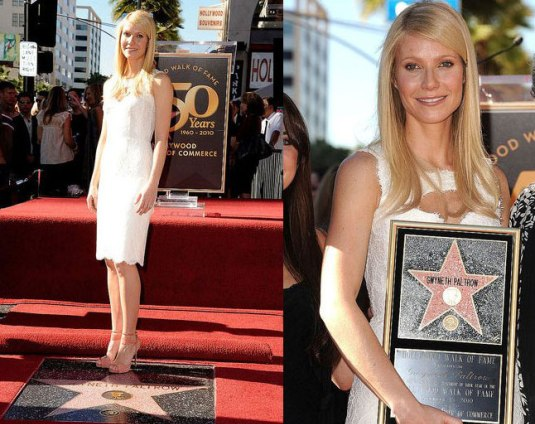 Gwyneth Paltrow Gets a Star on the Hollywood Walk of Fame