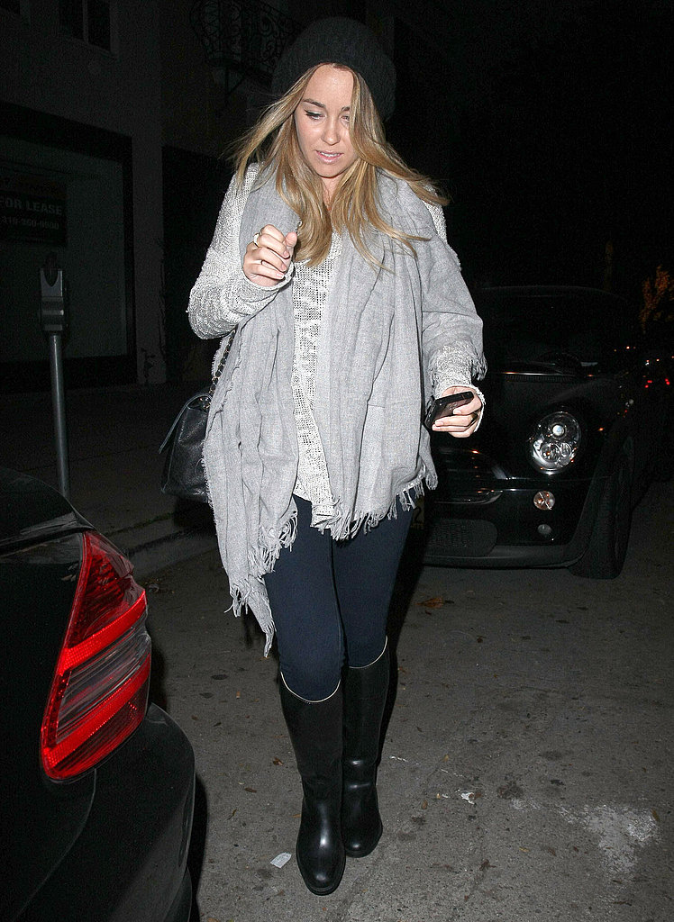 Lauren Conrad Layers Up For a Relaxing Spa Evening