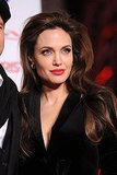 Angelina Stays in Black For Another Tourist Premiere With Brad!